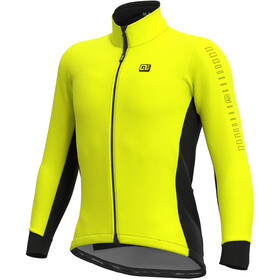 Alé Cycling Solid Fondo Veste Homme, fluo yellow